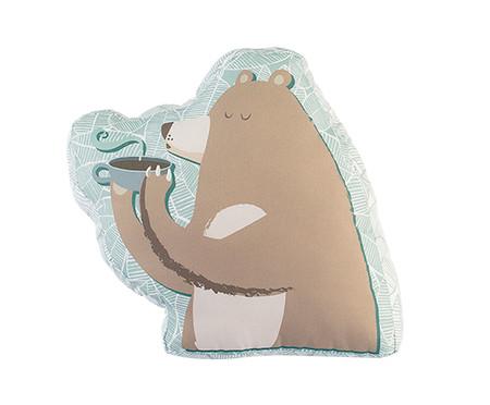Almofada Floresta Urso Tomando Café   WestwingNow