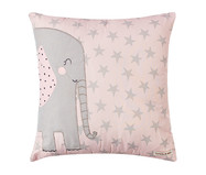 Almofada Flamingo Bordada Elefante   WestwingNow