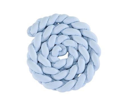 Almofada Protetora para Berço Trança Liss - Azul | WestwingNow