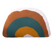 Almofada Rainbow - Marro e Verde   WestwingNow
