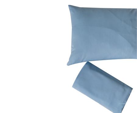Jogo de Lençol Lopes Azul Claro - 300 fios | WestwingNow