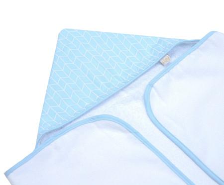 Toalha de Banho Baby Minimalist - Azul Claro | WestwingNow