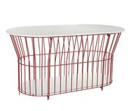 Mesa de Centro Basket Oval - Cobre | WestwingNow