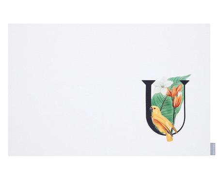 Lugar Americano Monograma Letra