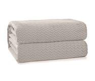 Cobertor Plush Tweed - Cevada   WestwingNow