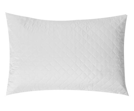 Protetor de Travesseiro Matê - Branco, Branco | WestwingNow