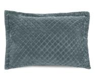 Porta-Travesseiro Plush Inove Liss - Verde Capri   WestwingNow