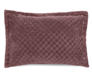 Porta-Travesseiro Plush Inove Liss - Ameixa   WestwingNow