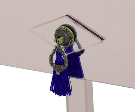 Mesa de Cabeceira Smith - Bronze | WestwingNow