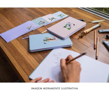 Bloco de Anotações Monograma Letra