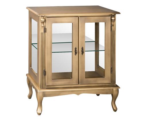 Cristaleira Luís XV - Ouro Envelhecido, Branco, Colorido | WestwingNow