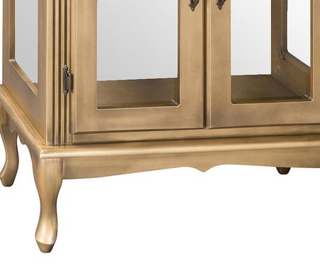 Cristaleira Luís XV - Ouro Envelhecido   WestwingNow