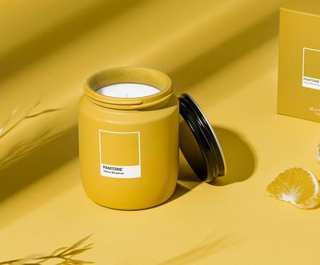 Vela Perfumada de Pote Yellow Bergamot Pantone - 170g | WestwingNow