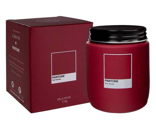 Vela Perfumada de Pote Red Vanilla Pantone - 170g, Vermelho | WestwingNow