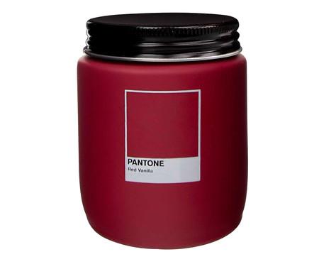 Vela Perfumada de Pote Red Vanilla Pantone - 170g | WestwingNow
