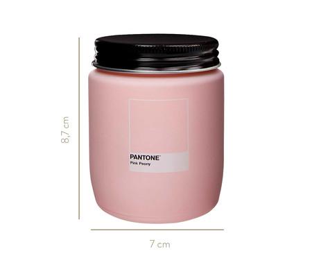 Vela Perfumada de Pote Pink Peony Pantone - 170g | WestwingNow