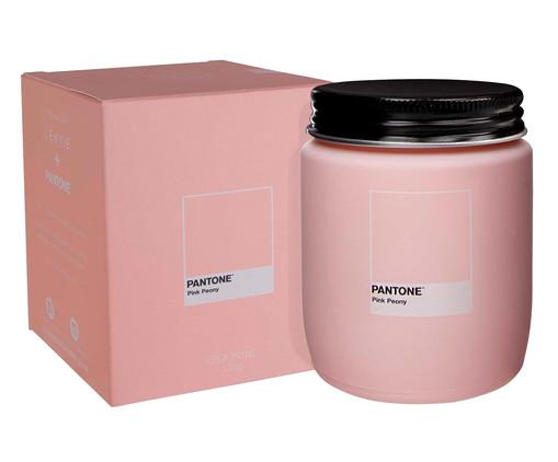 Vela Perfumada de Pote Pink Peony Pantone - 170g, Rosa   WestwingNow