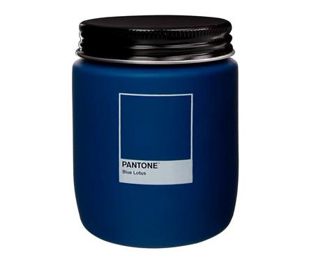 Vela Perfumada de Pote Blue Lotus Pantone - 170g | WestwingNow