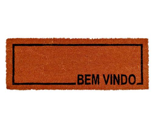 Tapete Capacho em Fibra de Coco Slim Jug, Vermelho | WestwingNow