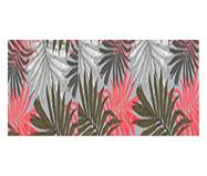 Jogo de Tapetes e Passadeira Kasa Floral - Coral | WestwingNow