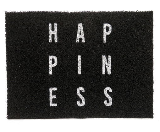 Capacho Vinil Super Print Hapiness, Colorido | WestwingNow