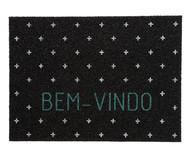 Capacho Vinil Super Print Bem-Vindo | WestwingNow