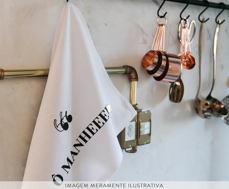 Pano de Prato Ô Manhê - Branco | WestwingNow
