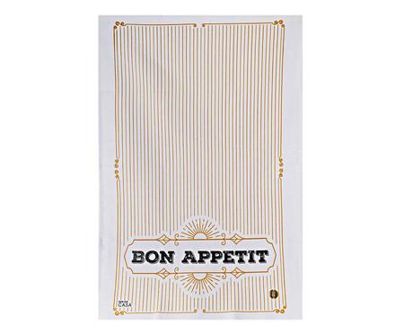 Pano de Prato Bon Appetit - Branco | WestwingNow