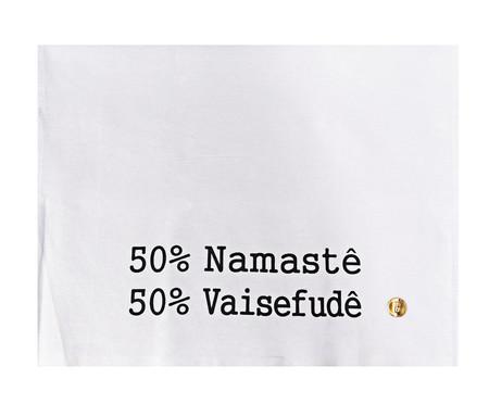Pano de Prato 50% Namastê - Branco | WestwingNow