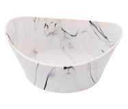 Bowl em Porcelana Marble Suni - Branco | WestwingNow