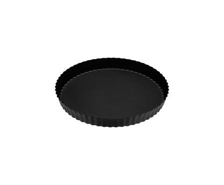 Forma Canelada Antiaderente com Fundo Removível Any - Preta | WestwingNow