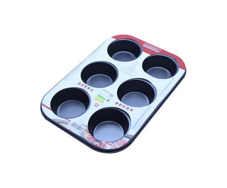 Forma Antiaderente para Muffin Cycil - Preta | WestwingNow