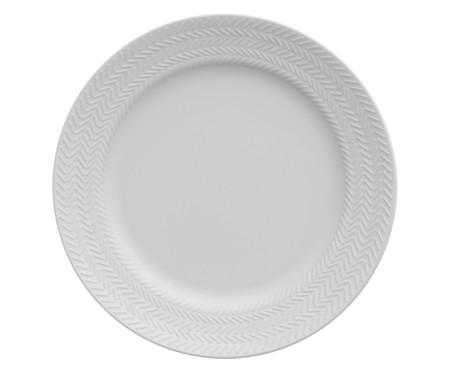 Jogo de Jantar em Porcelana Lucerne Branco - 06 Pessoas   WestwingNow