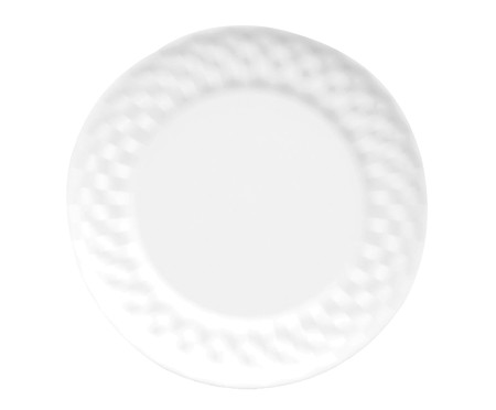 Jogo de Jantar em Porcelana Zamora Branco - 06 Pessoas | WestwingNow
