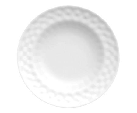 Jogo de Jantar em Porcelana Zamora Branco - 04 Pessoas   WestwingNow