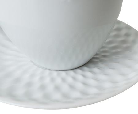 Jogo de Xícaras para Chá em Porcelana Zamora - Branco   WestwingNow