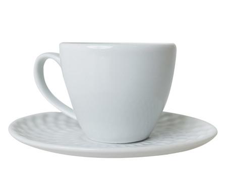 Jogo de Xícaras para Café em Porcelana Zamora - Branco   WestwingNow