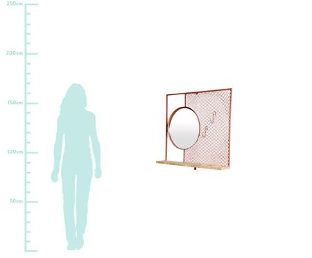 Prateleira com Espelho - Terracota | WestwingNow