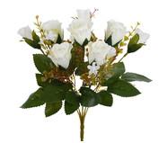 Buquê de Flores em Seda Rosa Silvestre - Creme | WestwingNow