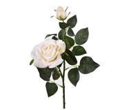 Planta Permanente Haste Rosa e Botão Oriental - Branco | WestwingNow