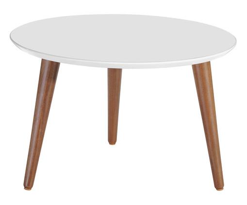 Mesa de Centro Redonda Classic - Branca Gloss, Branco | WestwingNow