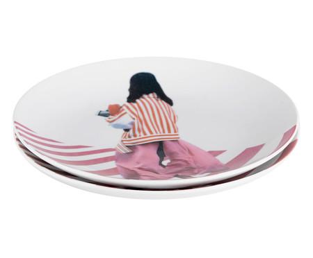 Prato Raso em Porcelana Diana - 24cm | WestwingNow