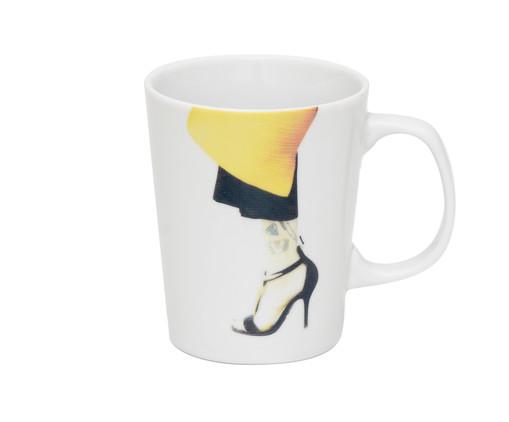Caneca em Porcelana Brigitte - Colorido, Colorido | WestwingNow