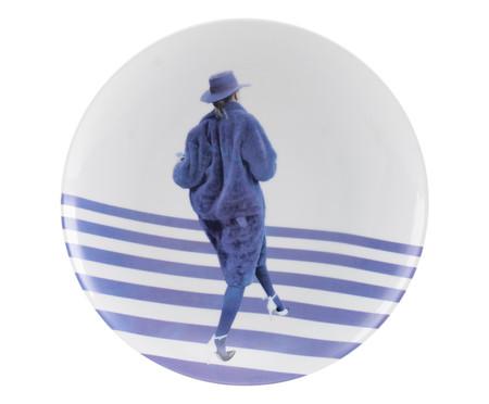 Prato Raso em Porcelana Sarah - Azul | WestwingNow