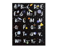 Quadro ABC do Astronauta | WestwingNow