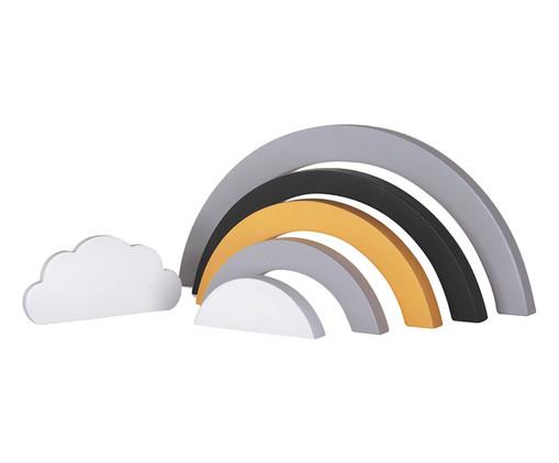 Escultura Arco-Íris, Branco e Cinza | WestwingNow