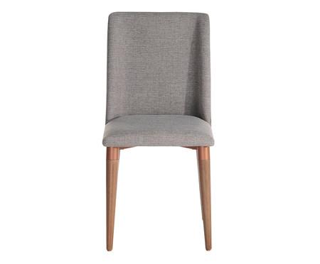 Cadeira em Madeira Thyra - Cinza | WestwingNow