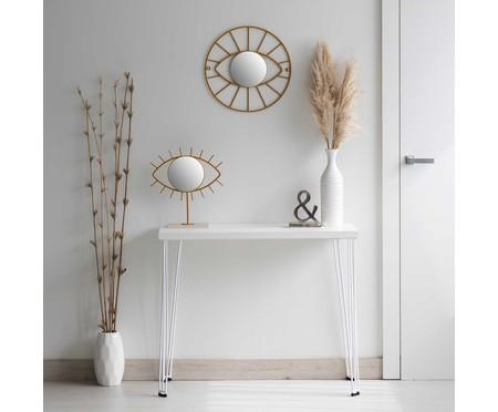 Espelho de Parede Redondo Latham Dourado - 41cm | WestwingNow