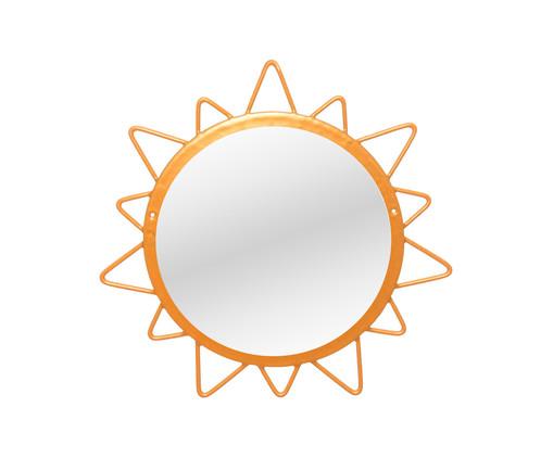 Espelho de Parede Redondo Sol Lynae Dourado - 32cm, Dourado | WestwingNow