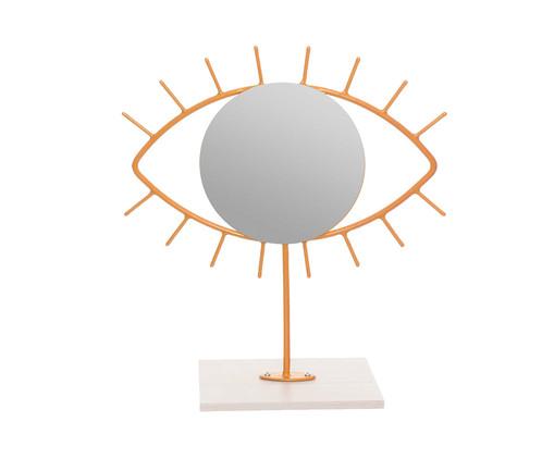 Espelho de Mesa Olho Jared - Dourado, Dourado | WestwingNow
